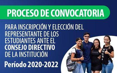 ELECCIÓN REPRESENTANTE ESTUDIANTES CONSEJO DIRECTIVO