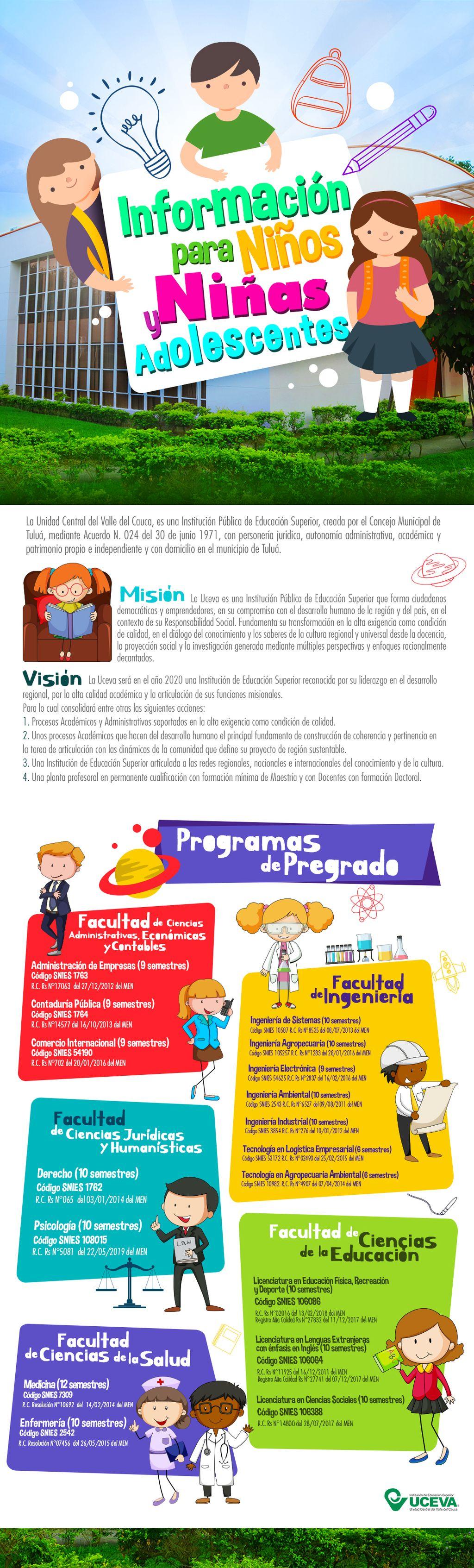 Información para niños y niñas
