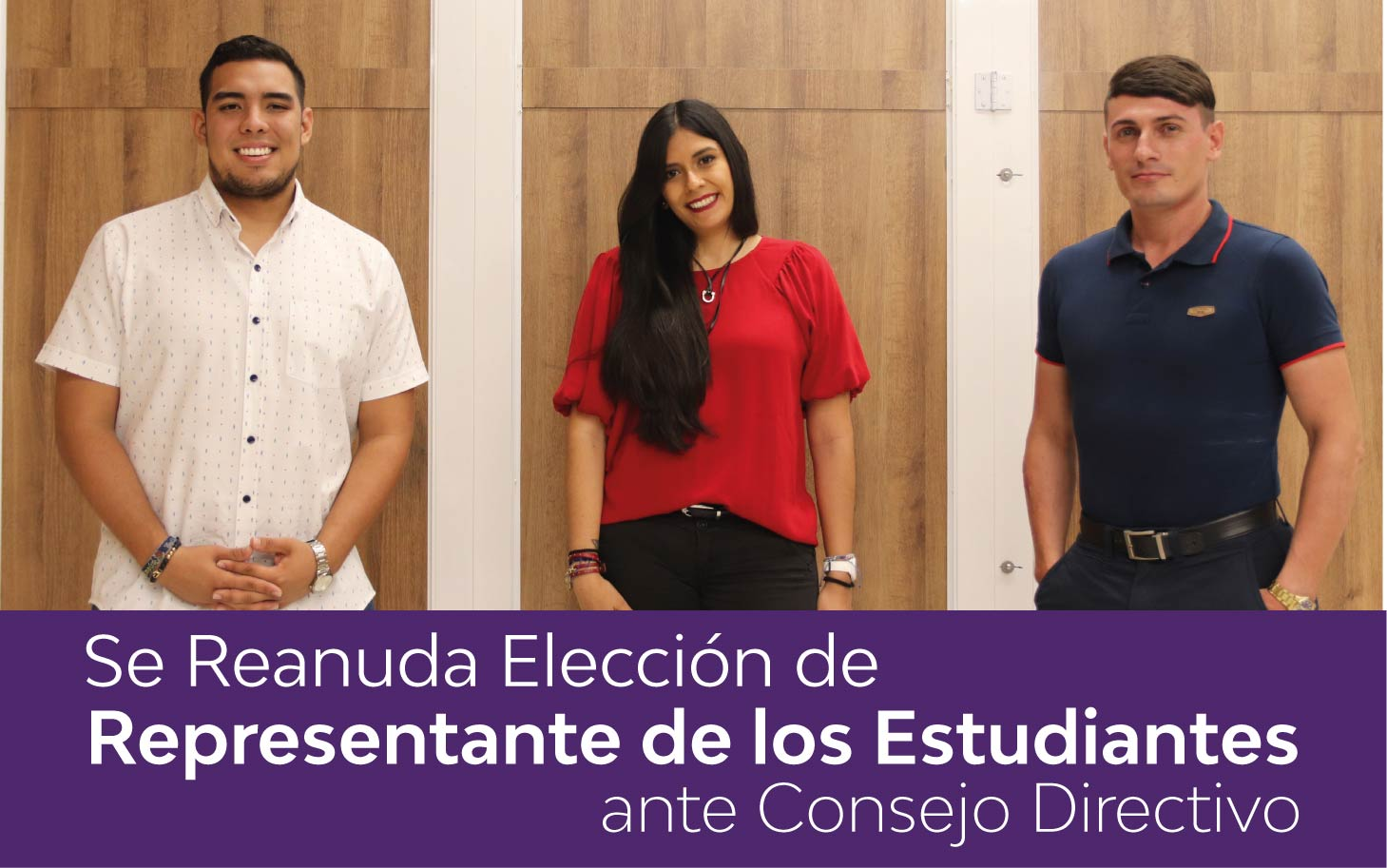 Se reanuda elección de representante de los estudiantes ante consejo directivo
