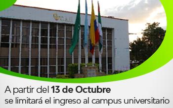 Restringido Ingreso al Campus Universitario