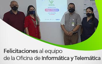 Exitosa Participación en Reto del Ministerio de las TIC