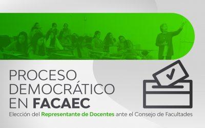 representantes FACAEC docentes imagen