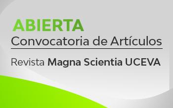 Nueva revista Magna Scientia Uceva