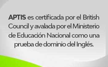Certifica tu Dominio de Inglés – Prueba APTIS