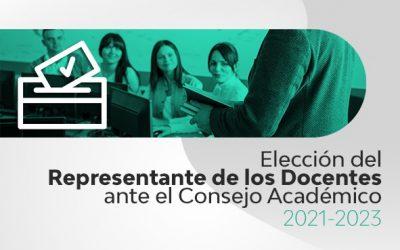 Elección Docentes Consejo Académico
