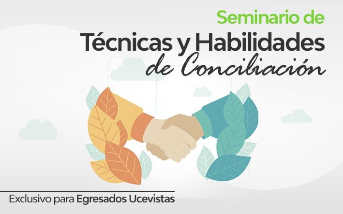seminario tecnicas y habilidades de conciliacion